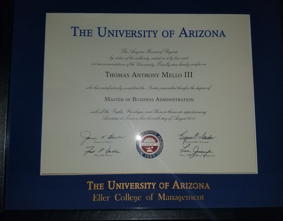 Masters Degree